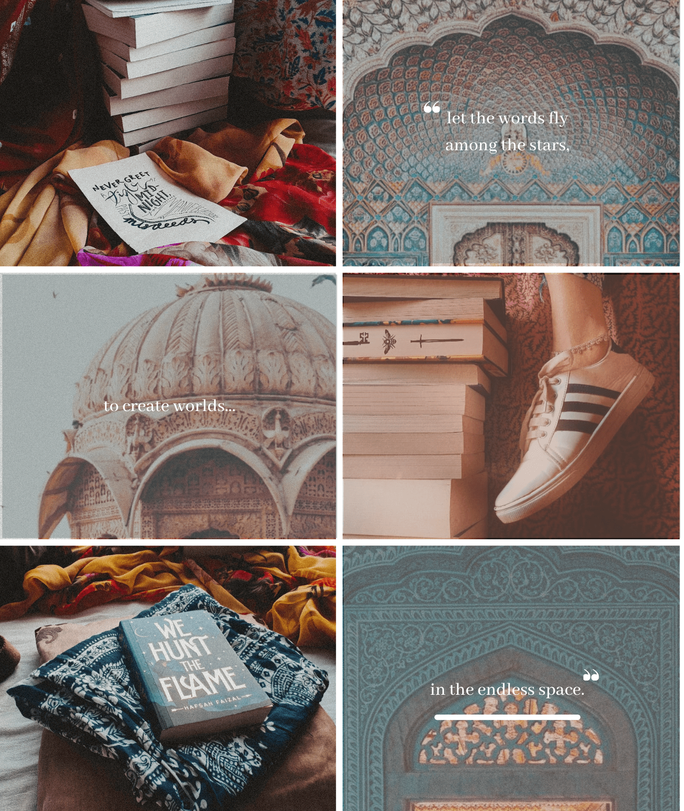 fanna for books collage sidebar